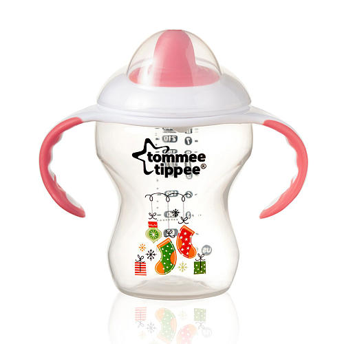 Tommee-Tippee-First-Sips Gingerbread Trainer Cup