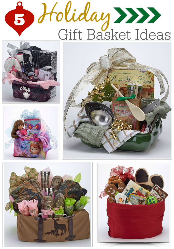 5 Holiday Gift Basket Ideas