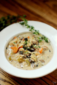 Have you ever tried making chicken wild rice soup? Get this delicious recipe for homemade Chicken and Wild Rice Soup. Use leftover rotisserie chicken to cut down on cooking time. This creamy soup is the perfect way to warm up on a cold day!