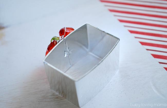 DIY Beaded Holiday Napkin Rings Inside