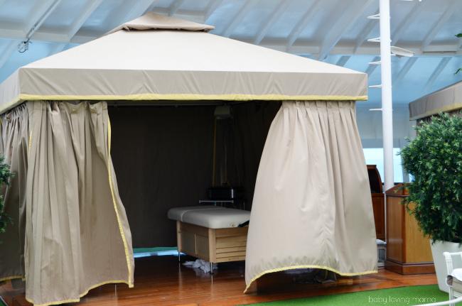 Princess Cruises Caribbean Princess Sanctuary Massage Area