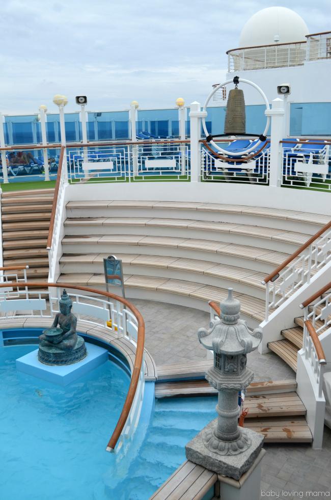 Princess Cruises Caribbean Princess Serenity Pool