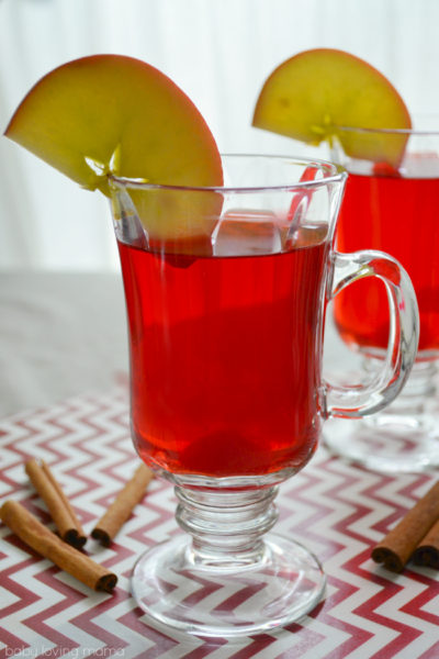 Slow Cooker Spiced Cherry Apple Cider