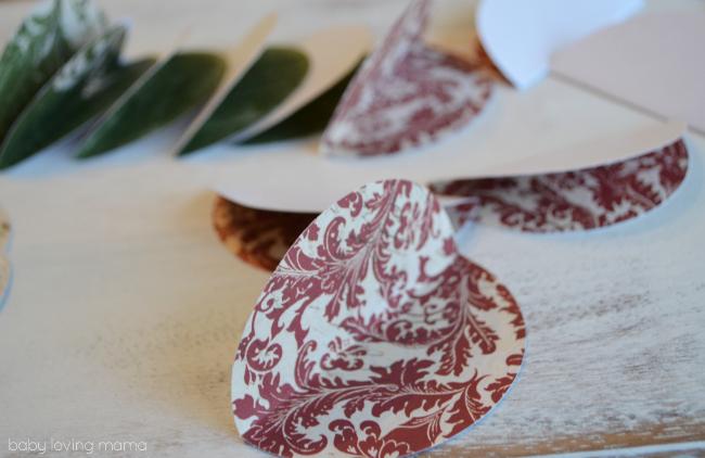 Vintage Paper Ornaments Fold