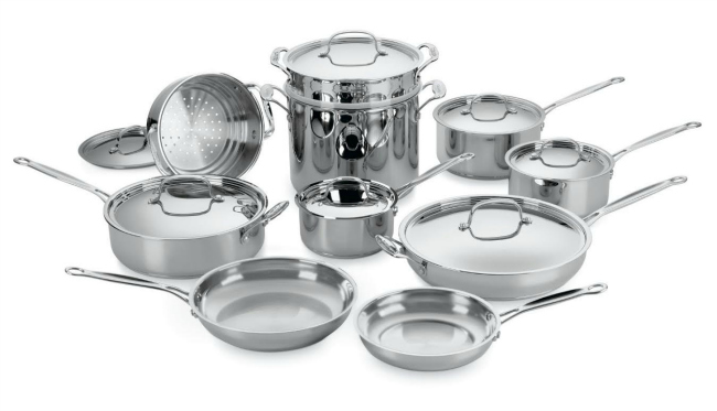 home chef ss pan set
