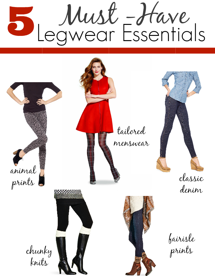 5 Must-Have Legwear Essentials