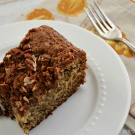 Banana Pecan Coffee Cake for Breakfast