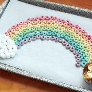 Edible Rainbow Kid Activity