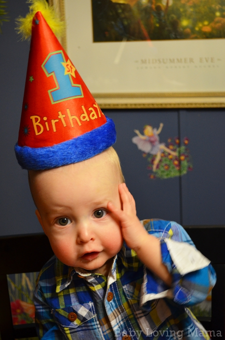 First Birthday Party Wesley Hat