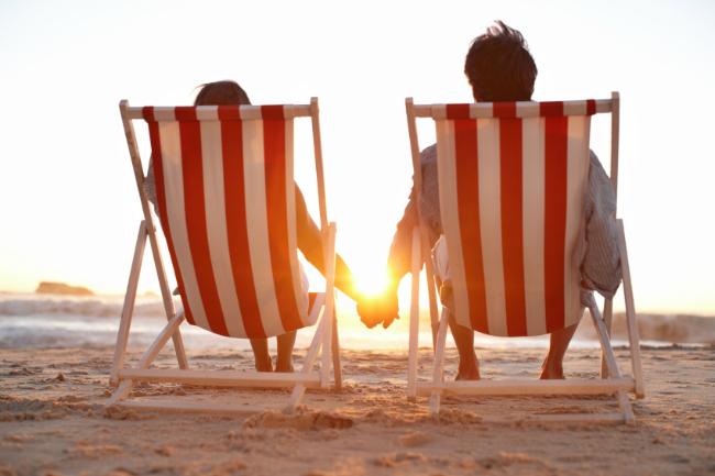 Romantic Evening at Beach