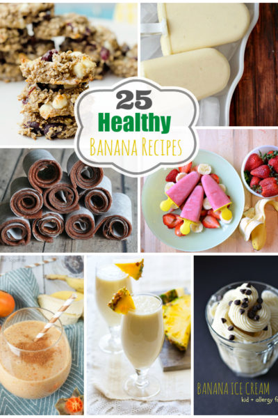 25 Healthy Banana Recipes