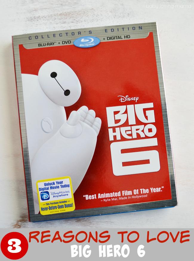 3 Reasons to Love Big Hero 6