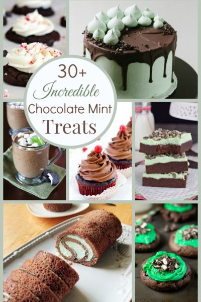 Over 30 of the Best Chocolate Mint Dessert Recipes