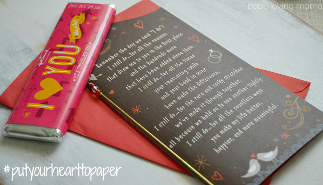 Hallmark Valentines Day Cards Put Your Heart to Paper