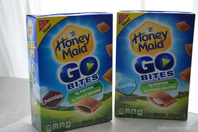 Honey Maid Go Bites Chocolate and Vanilla