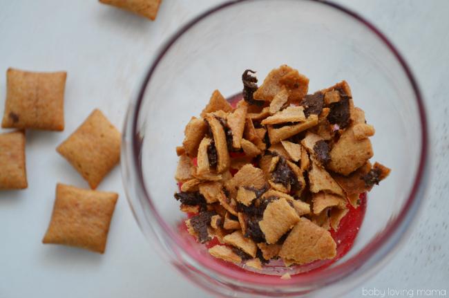 Honey Maid Go Bites Crushed for Parfait