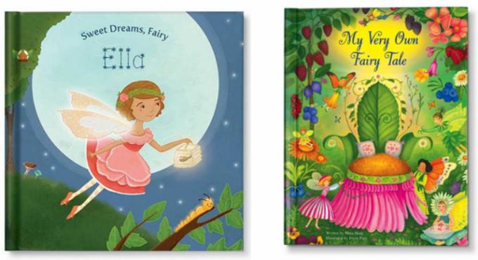 personalized fairy books
