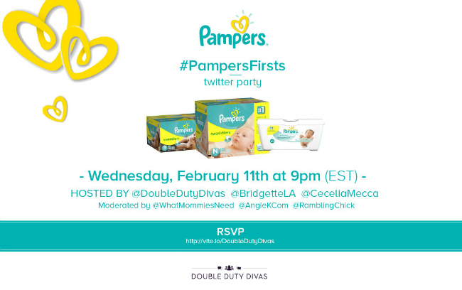 Pampers Firsts Twitter Party
