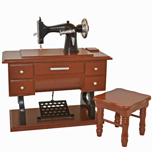 Queen Treasures 18 inch Doll Sewing Machine