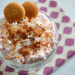 Toasted Coconut Strawberry Cheesecake Dessert Parfait with Yoplait Greek 100 Whips! #WhipItUp