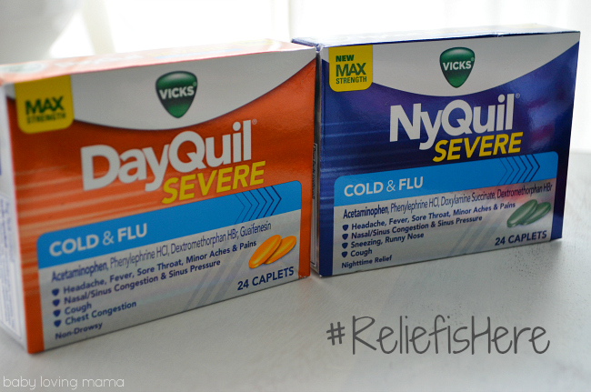 Vicks DayQuil NyQuil Severe Cold and Flu