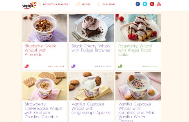 Yogurt Recipe Ideas