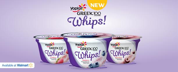 Yoplait Greek 100 Whips