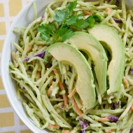 Avocado Broccoli Slaw: Sweet Swaps