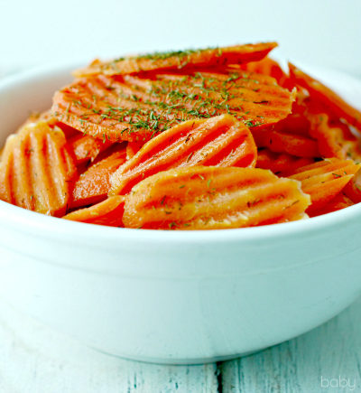 Dill Glzed Carrots Recipe