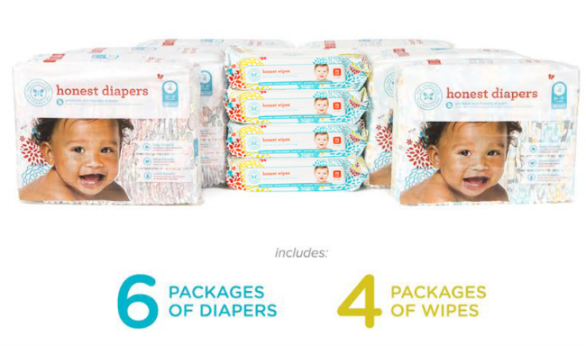 Honest Company Diaper Bundle