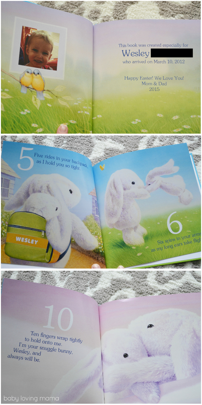 I See Me Snuggle Bunny Personalized Book