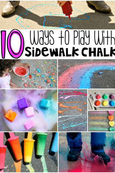 10 Ways to Play with Sidewalk Chalk
