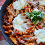 Easy Lasagna Skillet and Game Night Fun #Saucesome