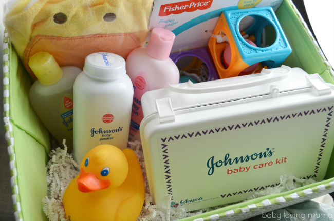 Johnsons Baby Care Kit