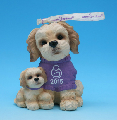 March of Dimes Puppy Ornament Kmart