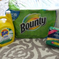 Stock Up and Save Event with P&G at Walmart + GIVEAWAY
