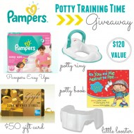 Potty Training Ready with Pampers Easy Ups | Twitter Party 4/21 9pm EST + GIVEAWAY