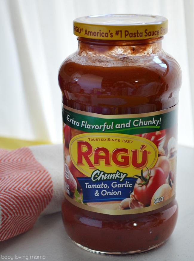 Ragu Chunky Tomato Garlic and Onion