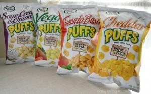 Sensible Portions Baked Corn Puffs