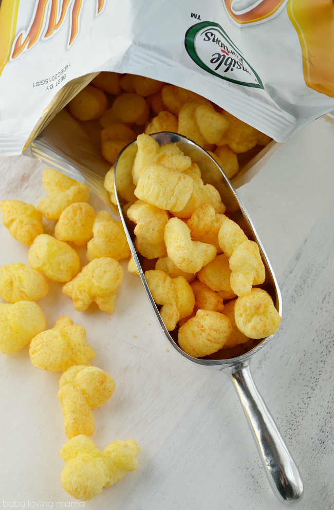 Sensible Portions Cheddar Puffs