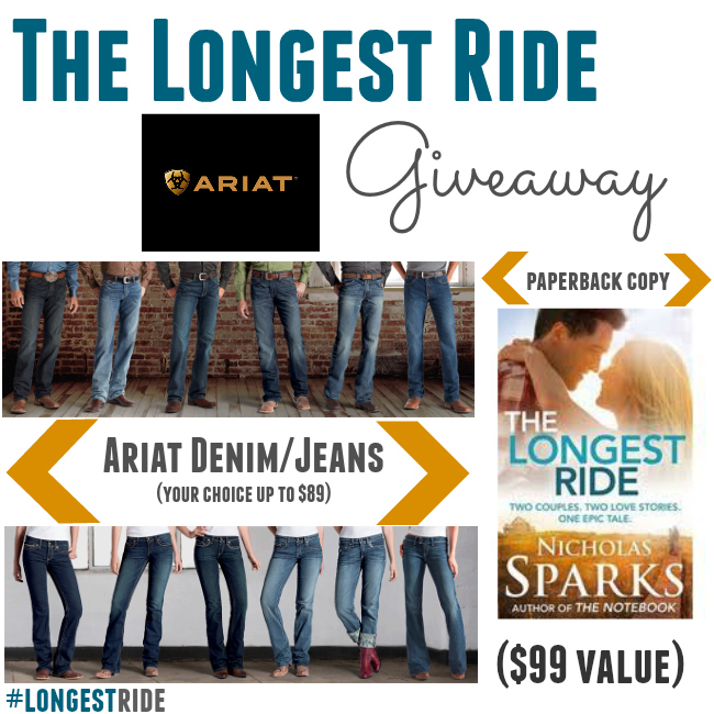 The Longest Ride Giveaway