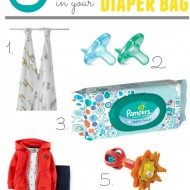 "5 Must-Have Items in Your Diaper Bag and Babies""R""Us In-Store Offers + GIVEAWAY"