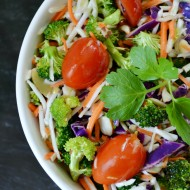 Broccoli Slaw with Citrus Dressing