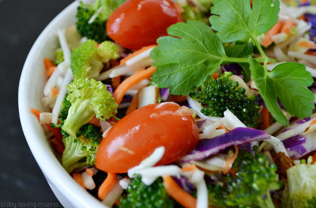 Citrus Broccoli Slaw
