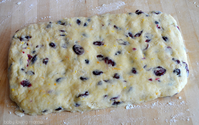 Cranberry Orange Scones Kneaded