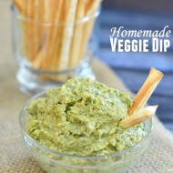 Homemade Veggie Dip with Cream Cheese