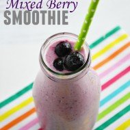 Mixed Berry Smoothie with Greek Yogurt