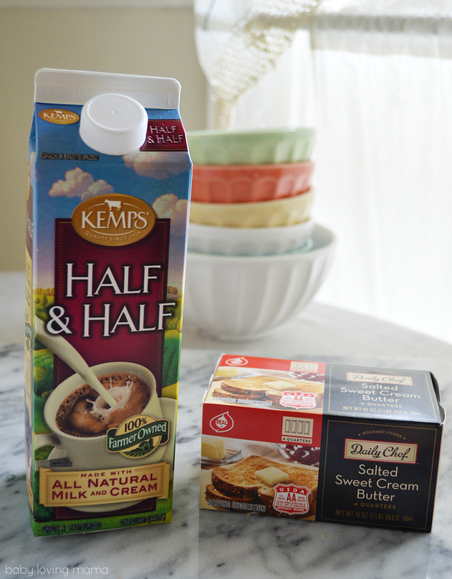 Real Dairy Products for Scones