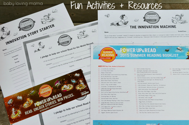 Scholastic Power Up and Read Summer Rea