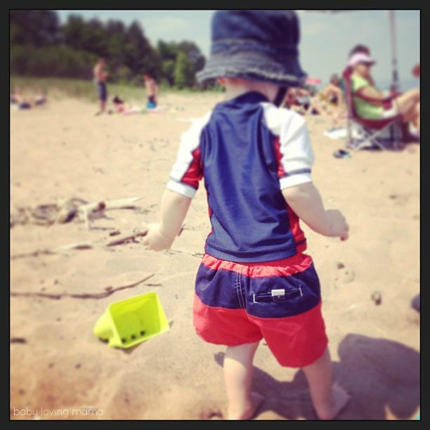Wesley at Beach